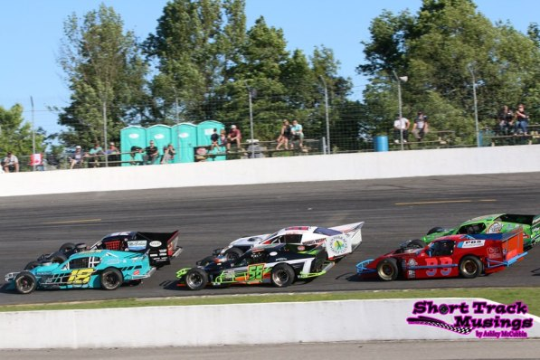 Queenston Chevrolet Buick GMC OSCAAR Modified Sunset Speedway