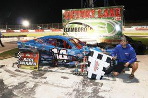 A.J. Emms at Flamboro Speedway
