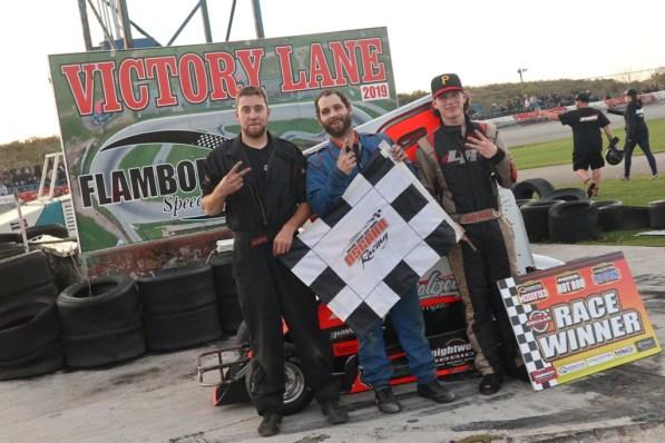 OSCAAR Pro Sprints Top 3 Flamboro Speedway Frostoberfest