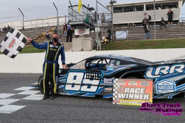 Andy Kamrath at Sunset Speedway 2020