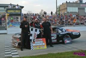 OSCAAR Hot Rod Series Top 3 at Sauble Speedway