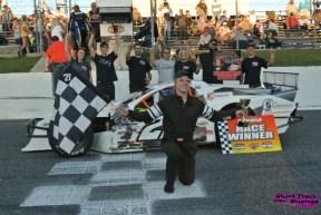 Marshal Schrenk at Sunset Speedway Fall Velocity 2021