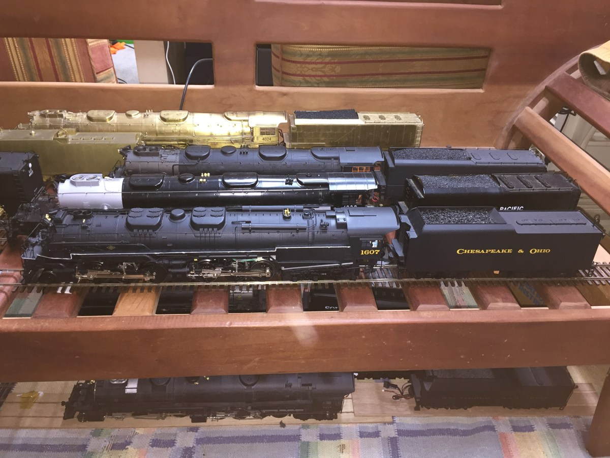 Dead-Rail Conversion of a Sunset 3rd Rail Allegheny 2-6-6-6 Locomotive with MTH Proto-Sound 3