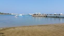 beach sea jetty