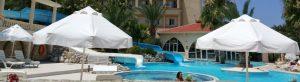 Aqua water slides pool