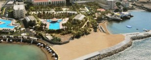 external view of oscar resort hotel