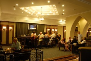 lobby and bar lounge