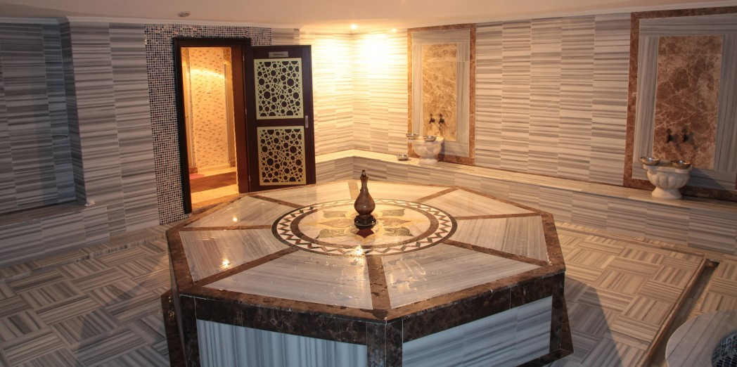 Turkish Hammam, Sauna, Steam Bath, Schock Shower, Massage, Private jacuzzi