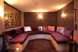 sauna relax area
