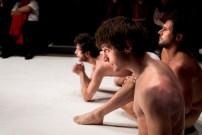 Les Bâtards Dorés - Méduse au 104, Paris. Mise en Scène collective. Création lumière Lucien Valle. Jules Sagot, Romain Grard & Manuel Severi.