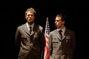 No Limit, Répétitions au Grand Palais, Paris. Mise en scène Robin Goupil assisté de Arthur Cordier. Tom Wozniczka & Martin Karmann.