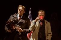 No Limit, Répétitions au Grand Palais, Paris. Mise en scène Robin Goupil assisté de Arthur Cordier. Stanislas Perrin & Augustin Passard.
