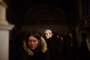 Richard Delestre in In Nomine Patris, directed by Delphine Seignon, produced by Joël Girod, DOP Hugo Poisson, Lead MUA Mélissa Landron, Lead Costume Designer Louise Feverel, Lead Set Designer Morane Lefevre.