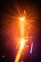 Nightswimming (Poetic Clubbing Performance), résidence au Red Club de Tours - Mise en scène par Romain Grard, Écrit par Romain Grard et Jules Sagot, Création lumière par Lucien Valle, assisté par Martin Barrientos, Création sonore par Maxence Granville, Costumes par Marion Moinet, Tower (installation scénique / machine) par XP Unit.