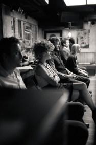 No Limit, répétitions au Cielito Lindo. Mise en scène Robin Goupil assisté par Arthur Cordier. Laurène Thomas, Stanislas Perrin, Tom Wozniczka, Augustin Passard & Victoire Goupil.