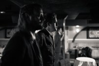 No Limit, répétitions au Cielito Lindo. Mise en scène Robin Goupil assisté par Arthur Cordier. Théo Kerfridin & Stanislas Perrin.