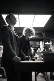 No Limit, répétitions au Cielito Lindo. Mise en scène Robin Goupil assisté par Arthur Cordier. Martin Karmann & Laurène Thomas.