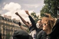Black Lives Matter, Paris, France.