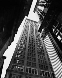Canyon, Broadway and Exchange, New York 1936