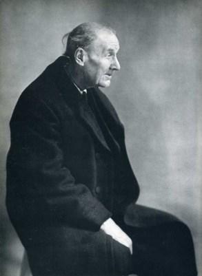Eugène Atget. Retrato por Berenice Abbott