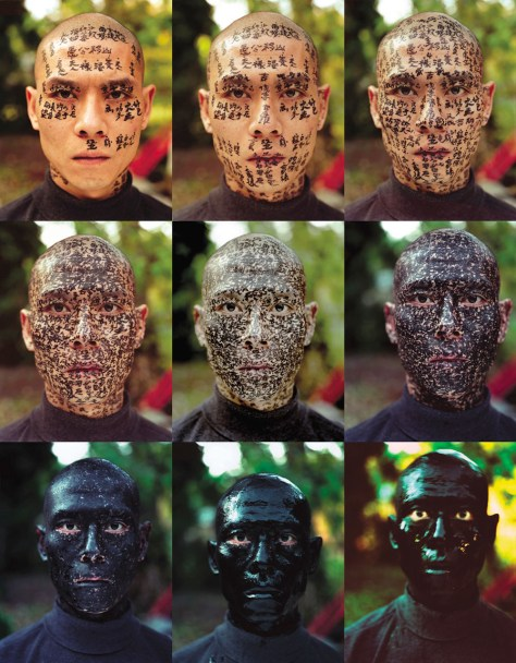 Zhang Huan, Family Tree, 2001