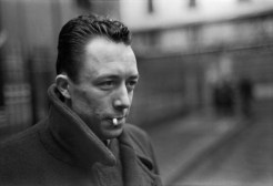Albert Camus, Paris 1944 Henri Cartier-Bresson