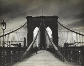 "Alexander Alland. ""Untitled"" (Brooklyn Bridge), c. 1938"