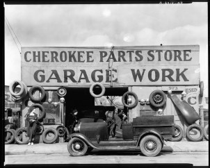 Auto parts shop Atlanta Georgia Walker Evans
