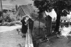 Beynac, France 1956 Henri Cartier-Bresson