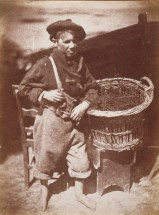 David Octavius HIll & Robert Adamson.Newhaven boy king fisher or his fathers breeks. (1843-1847)