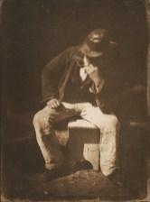 David Octavius HIll & Robert Adamson. Willie Liston, Newhaven fisherman. (ca. 1844)