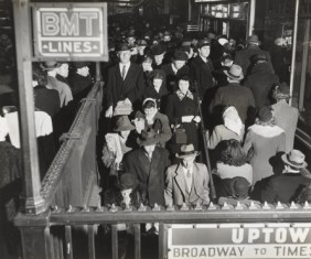 David Robbins. Subway Station, c. 1944