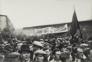 Demonstration at the Communards' Wall, Père Lachaise Cemetery, Paris 1937-39 Henri Cartier-Bresson
