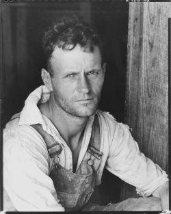 Floyd Burroughs cotton sharecropper Hale County Alabama Walker Evans
