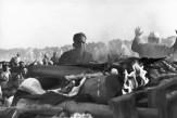Pira funeraria de Gandhi, Delhi 1948 Henri Cartier-Bresson