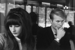 Jean-Marie Le Clézio with His Wife, Paris 1965v