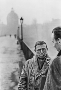 Jean-Paul Sartre, Paris 1946 Henri Cartier-Bresson