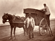 John Thomson. Flying dustmen. (ca. 1873)