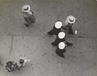 Ruth Orkin. Times Square, from Astor Hotel, 1950