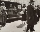 Lucy Ashjian, Untitled (Group in Front of Ambulance) 1936-40.