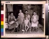 Walker Evans. Bud Fields y su familia