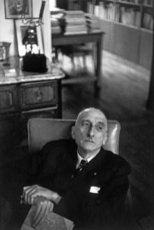1952 François Mauriac, París. Henri Cartier Bresson