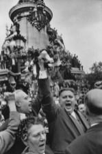 1958 Place de la République, Paris. Henri Cartier-Bresson