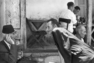1965 Turkish Coffee Shop, Mostar, Bosnia and Hercegovina Henri Cartier-Bresson