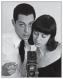 Diane Arbus con su esposo Allan