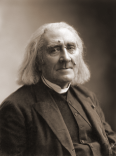 Nadar - Gaspard Felix Tournachon -Franz_Liszt_by_Nadar,_March_1886
