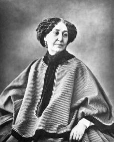 Nadar - Gaspard Felix Tournachon -georges-sand-1858