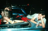 nan goldin 3 Nan Goldin. French Chris at the Drive-in, New Jersey, 1979. © Nan Goldin, courtesy Matthew Marks Gallery, New York