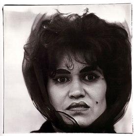 Diane Arbus Puerto Rican woman with a beauty mark, N.Y.C. 1965 Diane Arbus