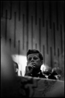USA. Los Angeles. 1960. Democratic Convention. Senator John F KENNEDY.Elliott Erwitt